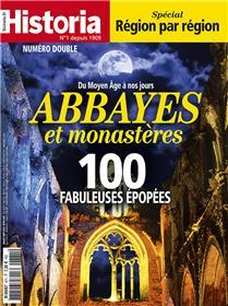 Historia mensuel N°871/872  Abbayes et monastères - juillet/août 2019
