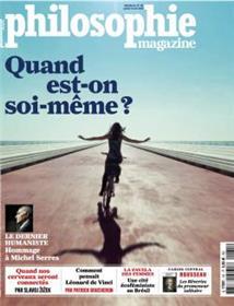 Philosophie Magazine n°131 Quand est on soi-même ? - juillet/août 2019