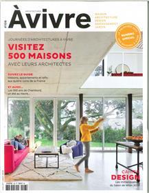 Architectures à Vivre N°108 - juillet/août 2019