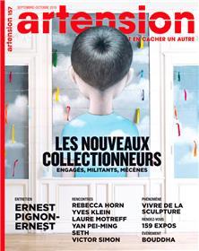 Artension N°157  Les nouveaux collectionneurs - septembre/octobre  2019