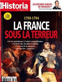 Historia mensuel N°874 La France sous la terreur  -octobre 2019