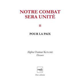 Notre Combat Sera Unite V2 ? Pour La Paix