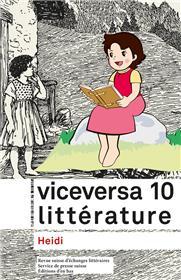 Viceversa Litterature, Revue Suisse D'Echanges Litteraires N°10 / 2016