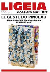 Ligeia N°173/176 Le geste du pinceau - juillet/décembre 2019