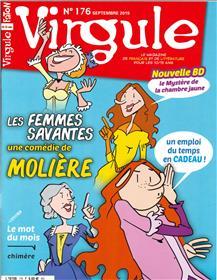 Virgule N°176 Les femmes savantes - septembre 2019