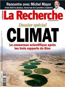 La Recherche N°553 Climat - novembre  2019