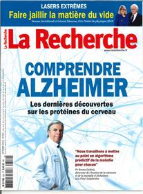 La Recherche N°552 Comprendre alzheimer  - octobre  2019