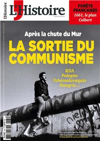 L´Histoire N°464 La sortie du communisme  - octobre 2019
