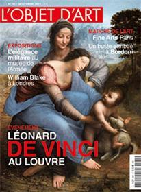 L´objet d´art N°561 Léonard de Vinci - novembre 2019