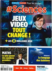 # Sciences N°4  Jeux video tout change - novembre 2019