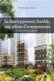 Le Développement Durable, Une Affaire D´Entrepreneurs