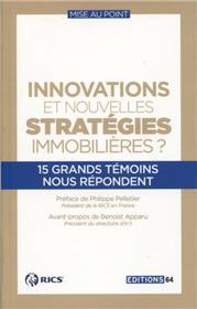 Innovation Et Nouvelles Stratégies Immobilières T3