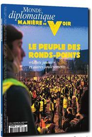 Manière de Voir N°168  Le peuple des ronds-points - décembre 2019/janvier 2020