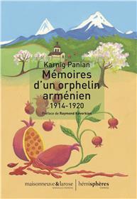 Mémoires d´un orphelin arménien