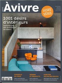 Architectures à Vivre HS N°45 1001  Désirs d´intérieurs  - décembre 2019/janvier/février 2020
