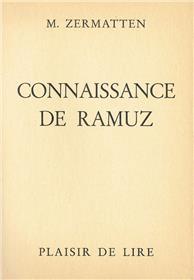 Connaissance De Ramuz