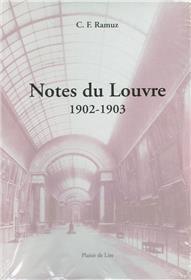 Notes Du Louvre 1902 1903