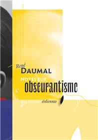 Notes sur l'obscurantisme
