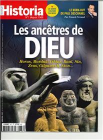 Historia mensuel N°877 Les ancêtres de dieu  - janvier 2020