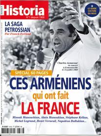 Historia mensuel N°876 Ces arméniens qui ont fait la France - décembre 2019