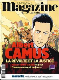 Le Nouveau Magazine Littéraire N°24 Albert Camus  - décembre 2019