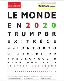 Courrier International HS N°75 Le monde en 2020 - janvier 2020