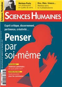 Sciences Humaines N°323 Penser par soi-même - février 2020