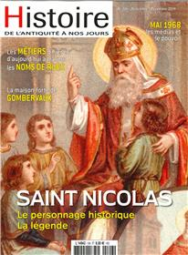 Histoire de l´Antiquité à nos jours N°106 Saint Nicolas - novembre/décembre 2019
