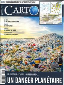 Carto N°56 - novembre/décembre Plastique l autre marée noire  2019