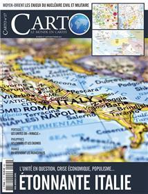 Carto N°57 Etonnante Italie - janvier/février 2020