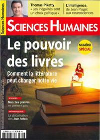 Sciences Humaines N°321S Le pouvoir des livres  - décembre 2019