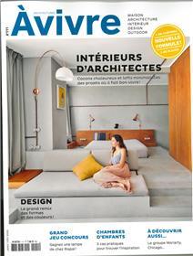 Architectures à Vivre N°111 Intérieurs d´architectes - janvier/février 2020