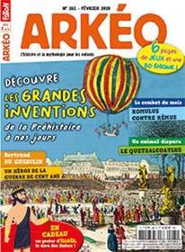 Arkéo Junior N°281 Les grandes inventions - février 2020