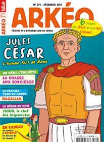 Arkéo Junior N°279 - Jules César - décembre  2019