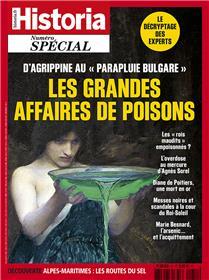 Historia spécial HS N°51 Les grandes affaires de poisons  - janvier/février 2020