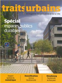 Traits urbains N°110  Espace public durable - printemps 2020