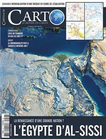Carto N°59  L'Égypte d'Al-Sissi - mai/juin 2020