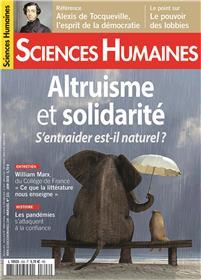 Sciences Humaines N°326 Altruisme et solidarité - mai 2020