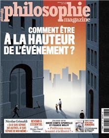 Philosophie Magazine n°139 - Comment être à la hauteur de l´événement - mai 2020